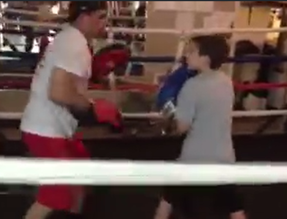 kids boxing classes